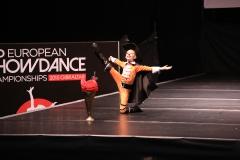 IDO European Show Dance Championships Gibraltar 2015